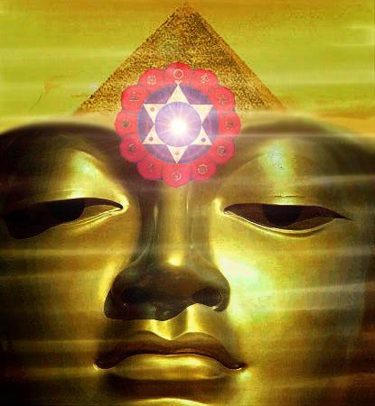Meditation Pyramid Buddha